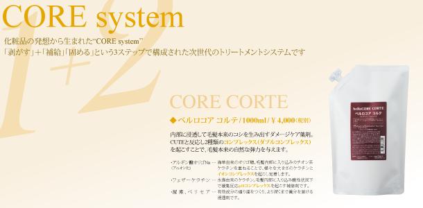 CORE CORTE